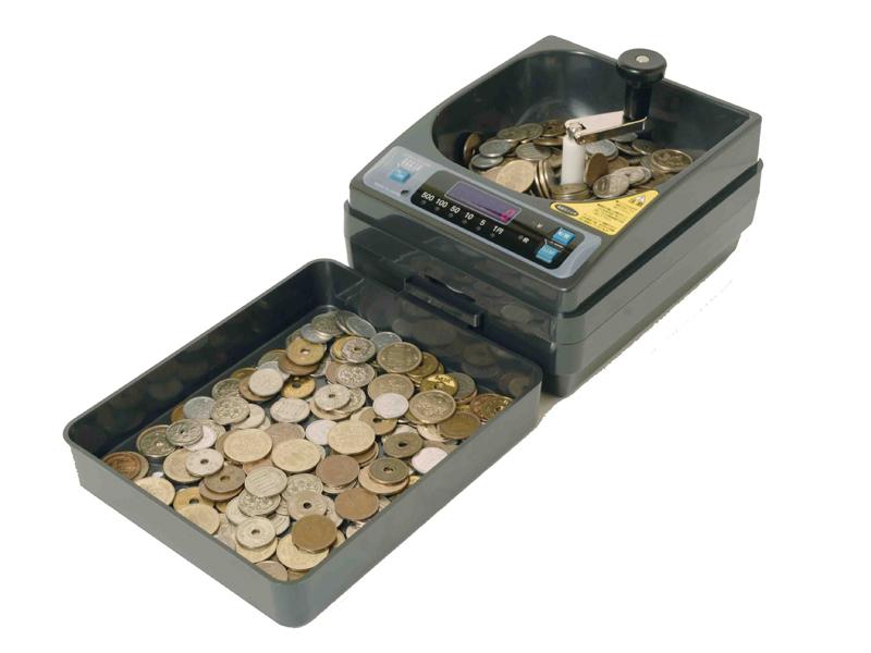 新品手動小型硬貨選別機 コインカウンター SCC-10
