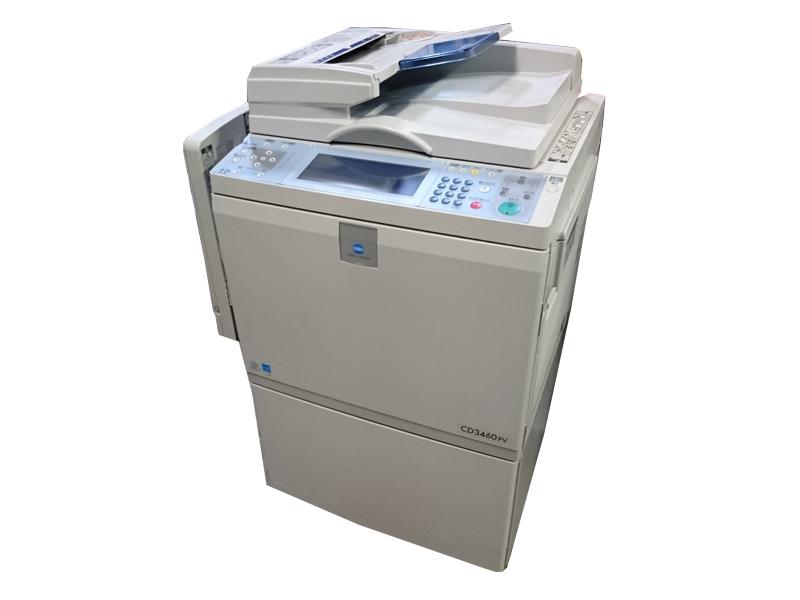 中古A3印刷機 コニカミノルタ CD3460PV