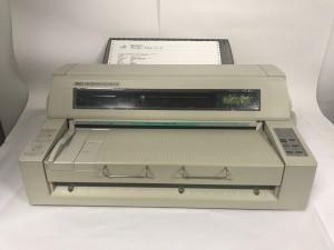 沖データー MICROLINE 8480SU2-R 中古ドットインパクトプリンターUSB/パラレル接続 テスト印字、USB出力確認 トレイ付き 【売り切れ】