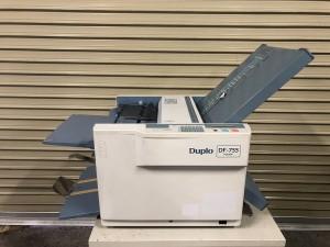 中古紙折機 【Duplo(デュプロ) DF-755】 動作確認済