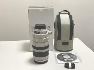 【極美品】CANON EF100-400mm F/4.5-5.6L IS USM ズームレンズ 中古
